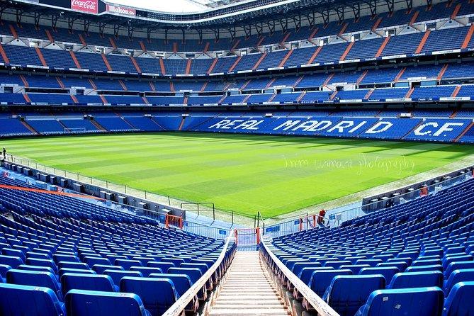 Private Tour: Santiago Bernabeu Stadium & Modern Madrid with Hotel pick up