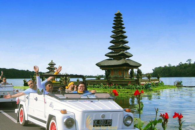 Private Tour : VW Safari Adventure-Tanah Lot Temple-Unesco Rice Terrace-Lunch