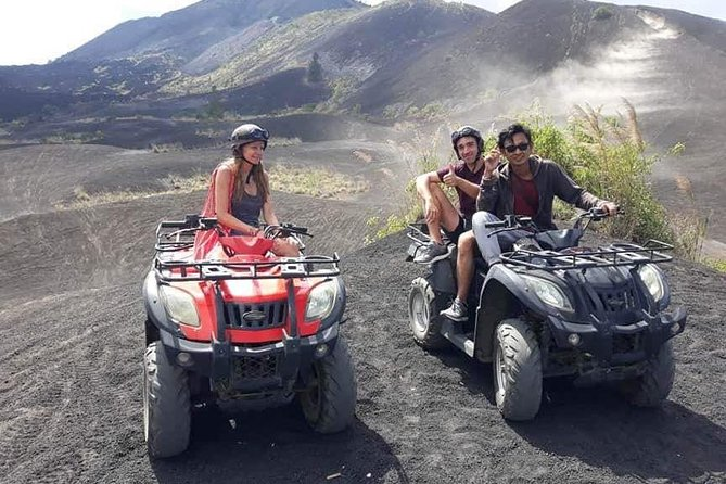 Activity Package: Single ATV Ride at Batur Volcano, Lunch, Hot Spring