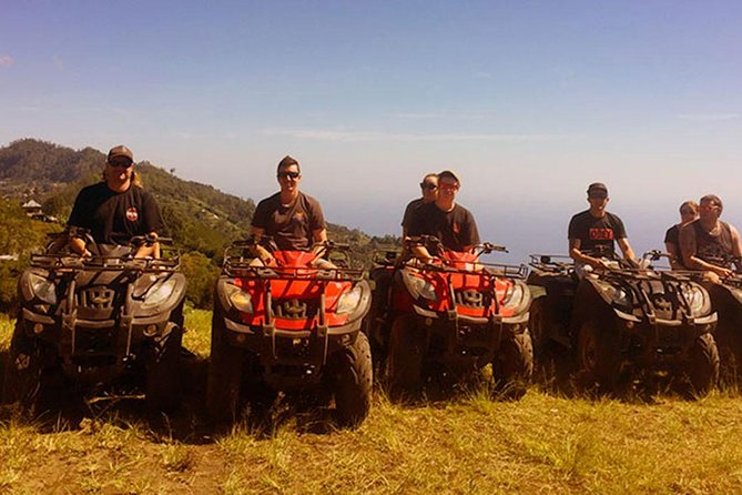 Amazing Private Tours-Package Tandem ATV ride In Batur Volcano-Hot Spring-Lunch