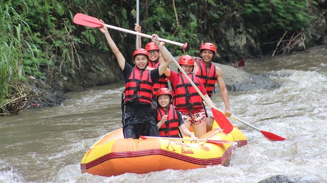 Adventure Rafting Journey With Us! And Ubud Palace-Ubud Market In A Private Tour