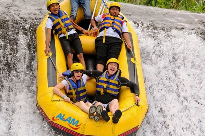 Amazing Telaga Waja River Rafting-Masceti Black Sand Beach-Private Transport