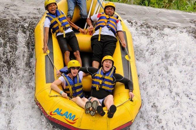 Amazing Telaga Waja River Rafting-Masceti Black Sand Beach-Private Transport