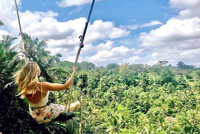 Amazing Private Tours-Ayung River Rafting-Bali Swing-Ubud Market And Agrotourims