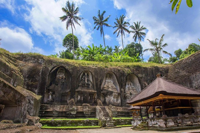 Amazing Tours-Goa Gajah Temple-Yeh Pulu temple-Gunung Kawi Temple-Waterfall