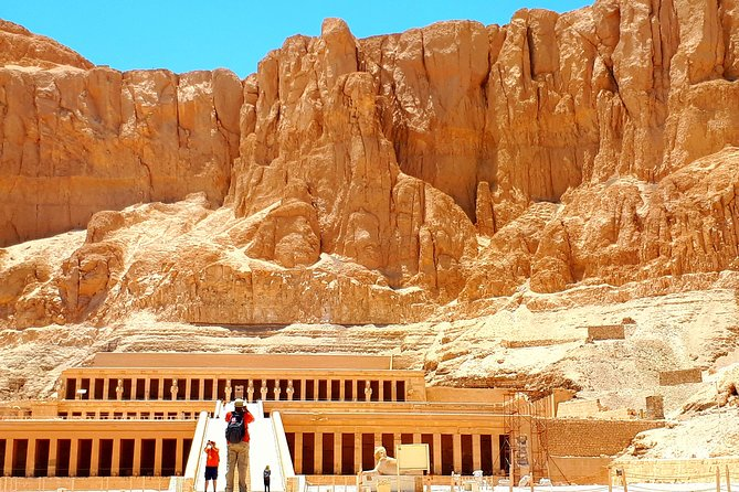 Day Tour from Luxor Airport to Kings Valley Hatshepsut and Karnak w/ Guide Lunch