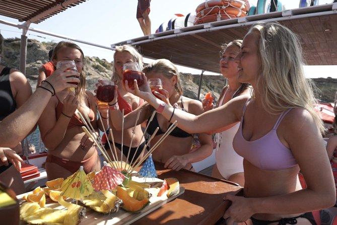 3 Hours All Inclusive Boat Trip Ibiza