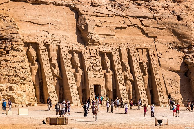 Private Day Trip: to Abu Simbel from Aswan by Air