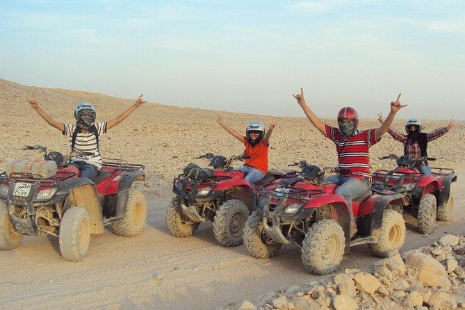 Morning Quad Bike Desert Safari from Hurghada