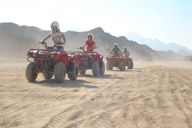 Morning Desert Safari Trip By Quad Bike from Marsa Alam