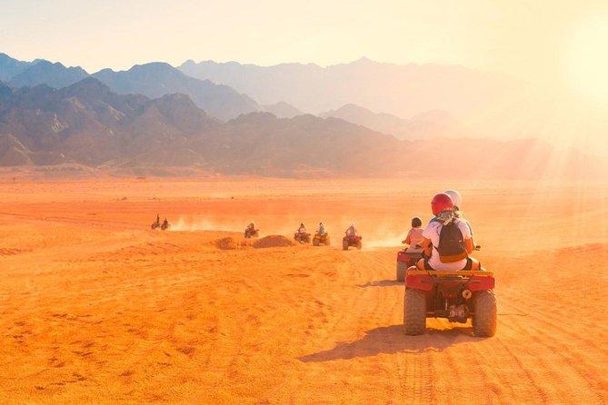 Sunset Desert Safari Trip en quad desde Marsa Alam