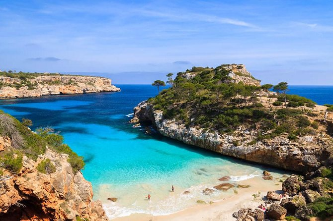 Boat tour from Cala Figuera to Caló del Moro and S´Almonia
