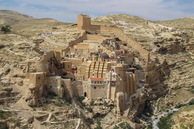 Private Day Tour: St. Georges Monastery, Wadi Qelt, Mar Saba, and Bethlehem