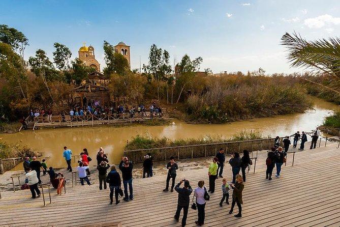 Private Day Tour: Bethlehem, Jordan River and Dead Sea
