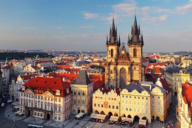 Excursões particulares personalizadas: excursão de meio dia do Castelo de Praga e a Cidade Antiga