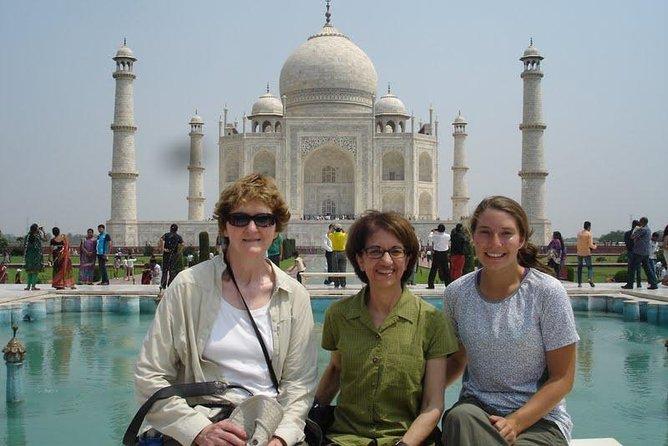 Early morning Taj Mahal & Agra Fort Same Day return experience from Delhi