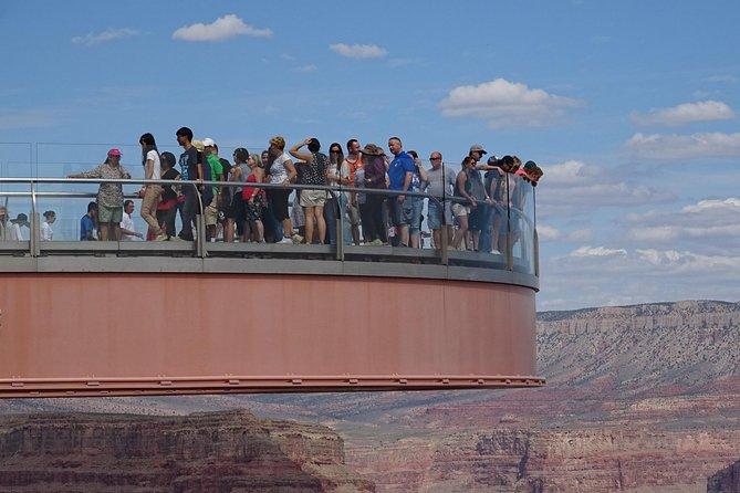Grand Canyon West Rim and Skywalk from Las Vegas