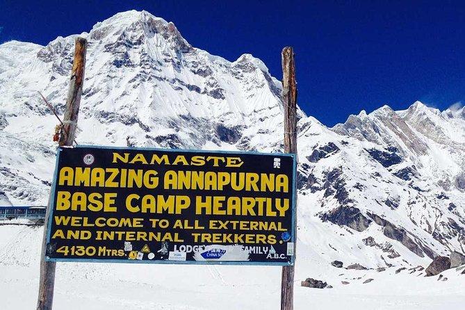 Annapurna Base Camp & Poon Hill Trekking