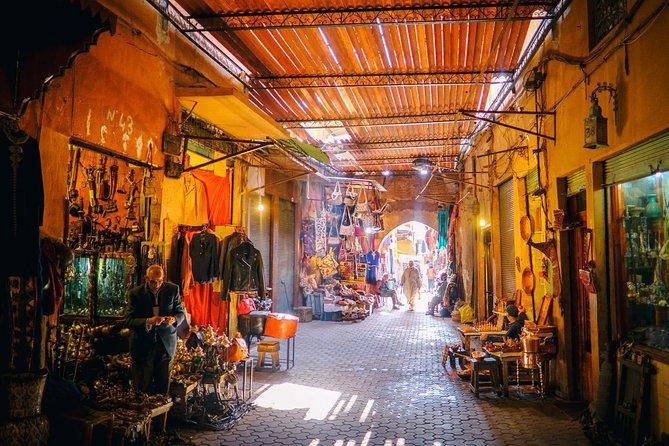 Medina von Marrakesch Einkaufstour
