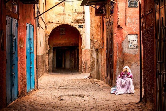 Marrakesh medina( OLD CITY) day tour from Casablanca