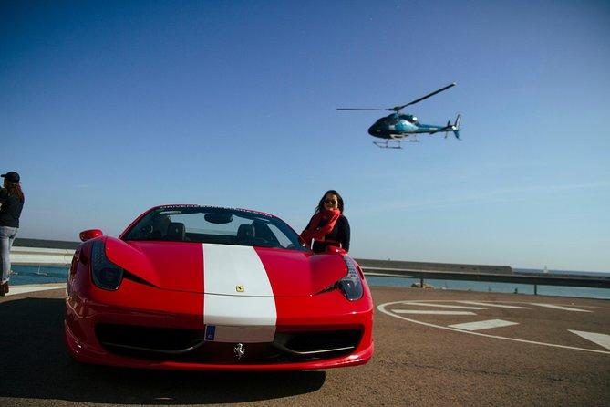 Ferrari Driving in Barcelona