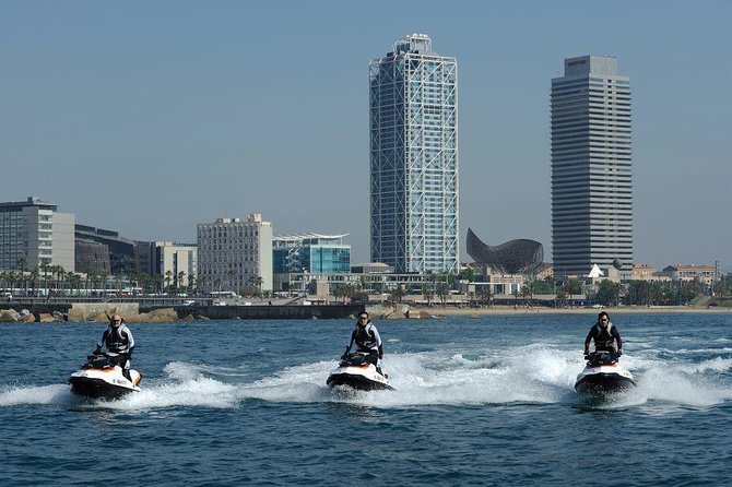 Ferrari Driving and Water Activities in Barcelona