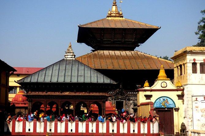 Private Half-Day Pashupatinath Temple and Boudhanath Stupa Tour from Kathmandu