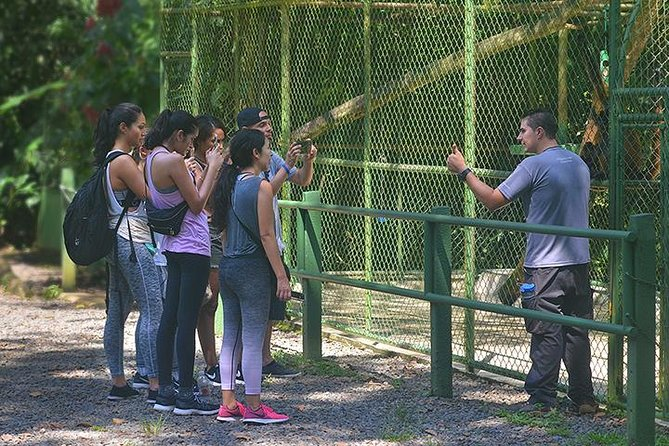 Wildlife Rescue Center Tour in Costa Rica