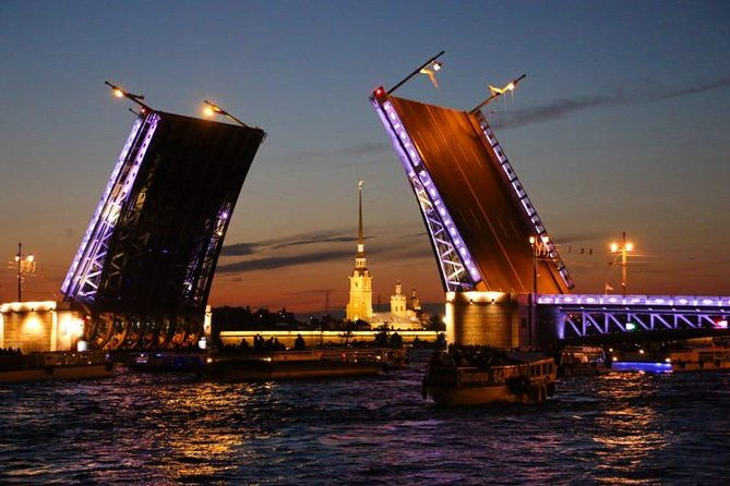 Raising Drawbridges Night Boat Tour