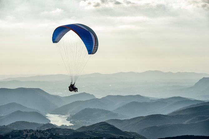 Paragliding tandem experience Rome