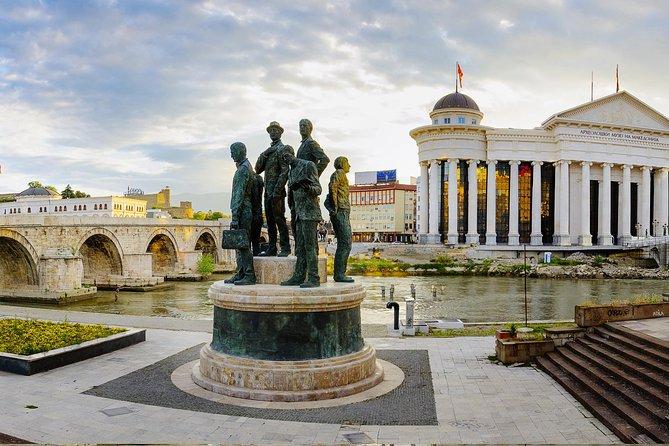 Un rápido Skopje en 3 horas de gira
