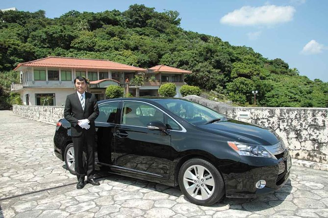 Explore Okinawa with Private Lexus Car Hire with Simple English Driver