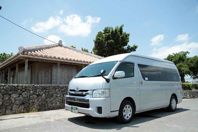 Explore Okinawa (Naha, Churaumi Aquarium, Kouri) using Private Hiace Van