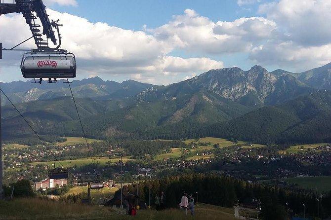 Enjoy commanding views of the Tatra Mountains