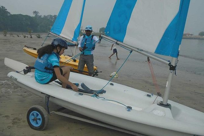Learn Dinghy Sailing in Mandwa Mumbai