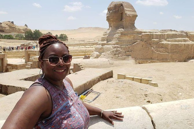 Giza pyramids sphinx valley temple and shopping tours