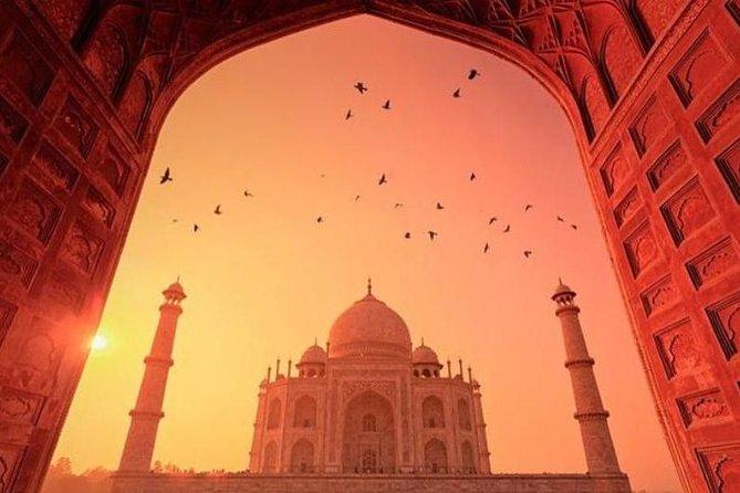 Waah Taj Mahal, Agra fort with professional guide.