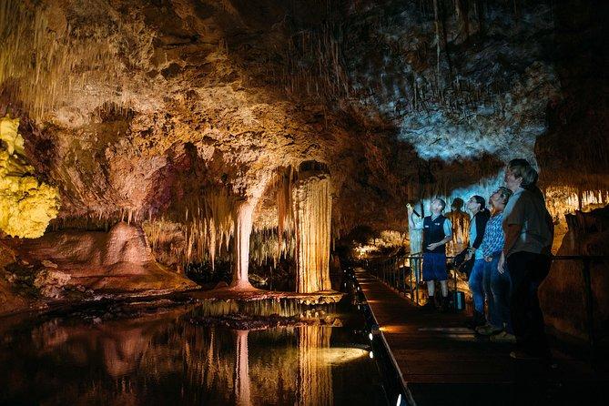 Visite guidée de la grotte du lac