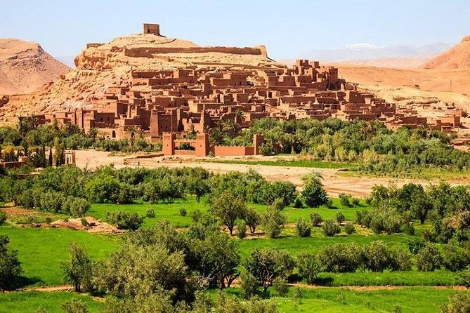 PRIVATE TOUR TO OUARZAZATE AND UNESCO KASBAH IN 2 DAYS FROM MARRAKECH