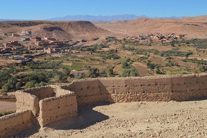 FULL DAY TRIP TO ROAD OF CARAVANS AND OUARZAZATE UNESCO KASBAHS FROM MARRAKECH