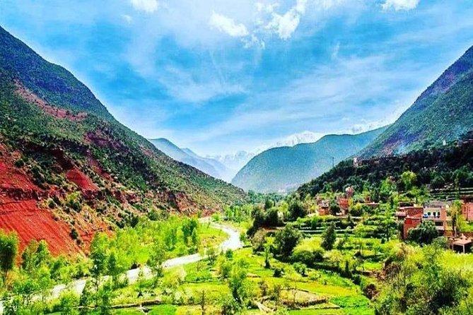 Marrakesh day tour to Atlas Mountains