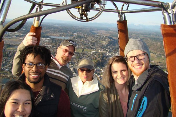 Snohomish Valley Sunrise Hot Air Balloon Ride