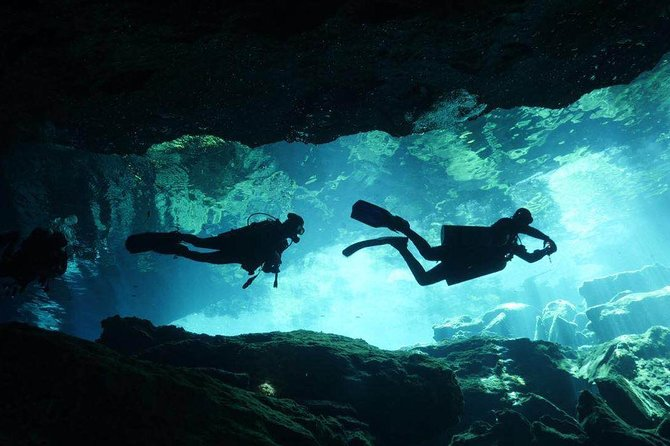 Discover the mystical cenotes - 2 Tank cavern diving