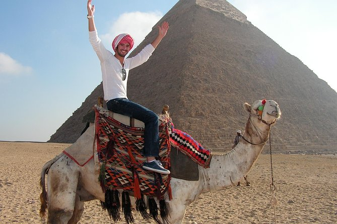 Cairo Day Tour with Entry Fees and Lunch from Hurghada