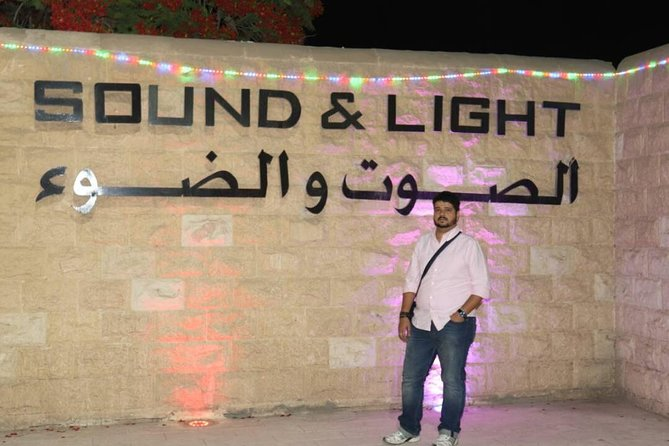 sound and light spectacular show at Giza pyramids with dinner