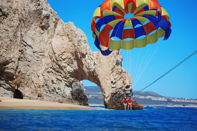 Parasailing at Lands End Cabo San Lucas
