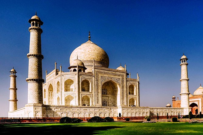 Agra Taj Mahal Day Trip With Red & White Experience
