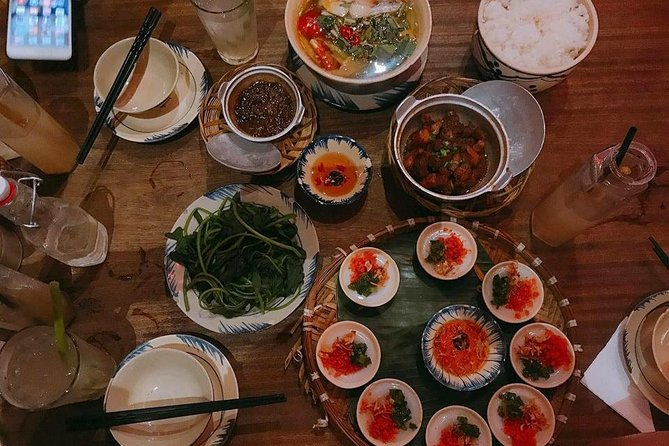 home meal in Hue