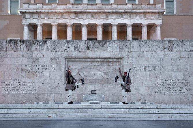 Een reis op de Segway in Athene. Athene tour van het oude verleden naar het moderne heden