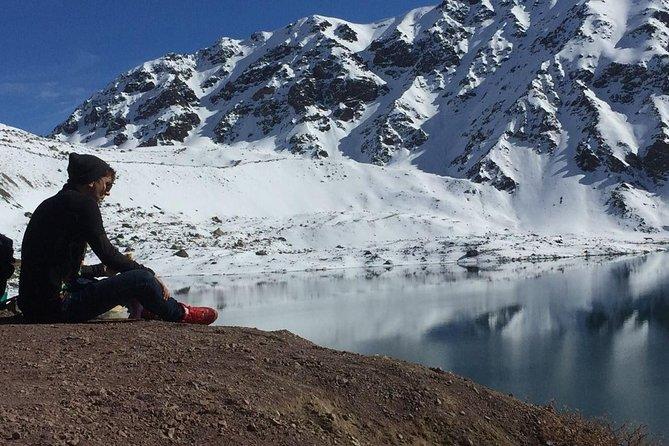 Andes Day Lagoon - Embalse del Yeso, Cajón del Maipo.
